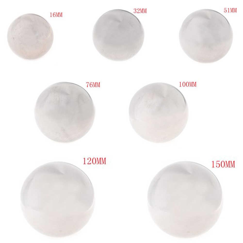 Adornos de bola de acero inoxidable de 16mm-120mm con brillo brillante adorno