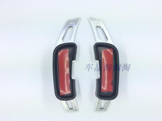 2pcs BLACK Steering Wheel Aluminum Paddle Shifter Extension Trim For Mazda 3 Mazda 6 Mazda3 Mazda6 M3 M6 2014 2015 2016