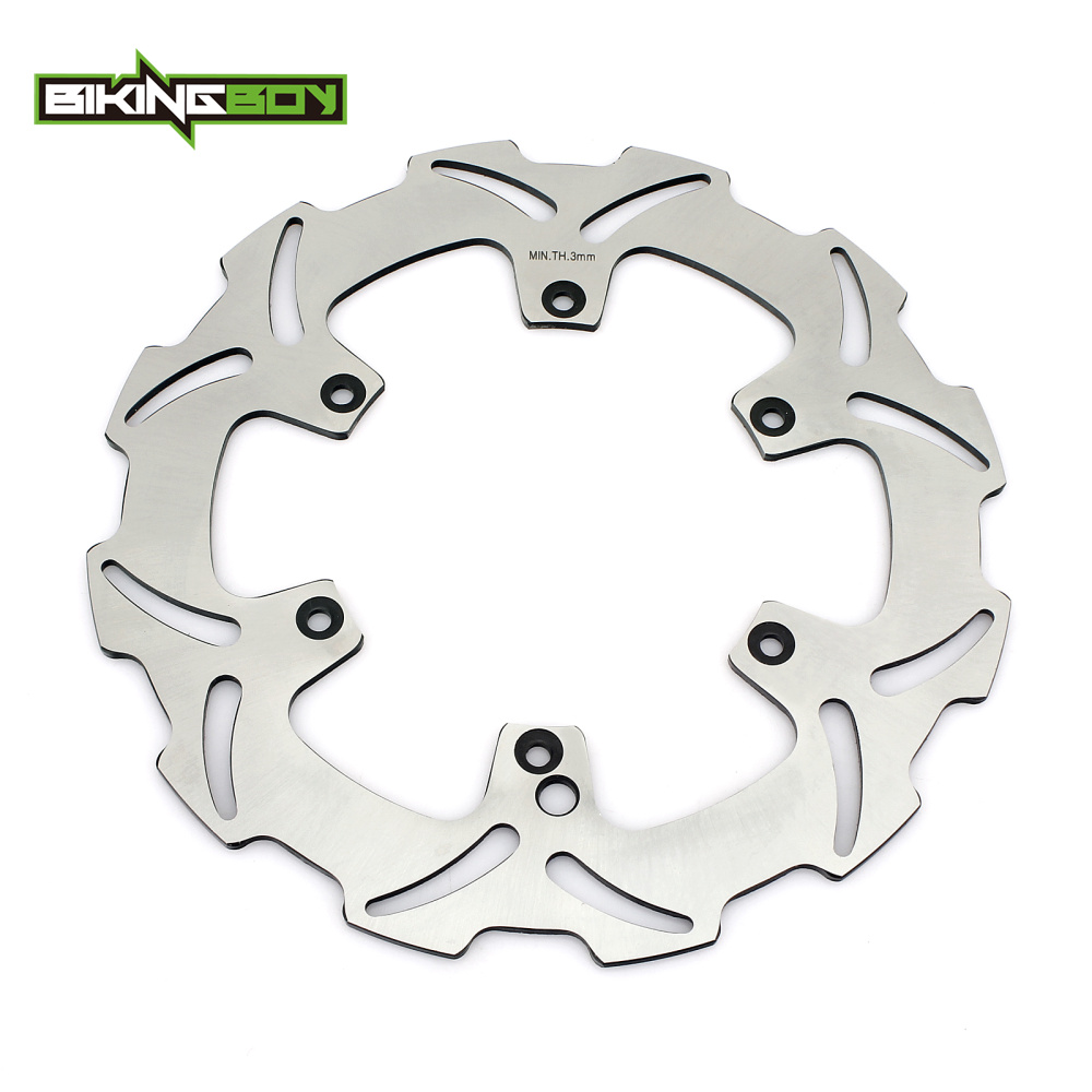 BIKINGBOY Front Brake Disc Rotor for KTM 125 250 300 500 600 MX 125 200 250 300 400 EXC 125 150 250 300 380 400 520 SX 260mm motorcycle front rider seat leather cover for ktm 125 200 390 duke