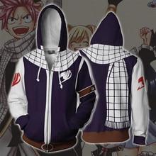 FAIRY TAIL Etherious Natsu Dragneel Natsu Hoodie Cosplay font b Anime b font Hoodie Sweatshirts 3D