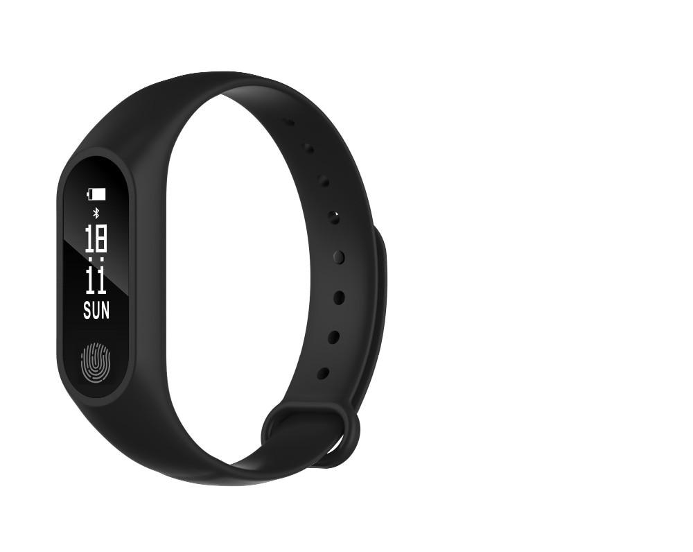 2017 New M2 Plus Smart Bracelet Heart Rate Monitor Bluetooth Smartband Health Tracker Smart Band Wristband