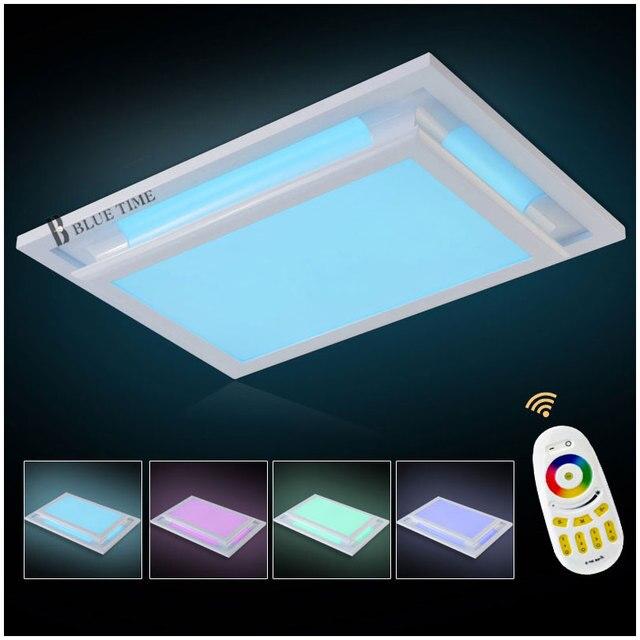 Kronleuchter LED RGB + Cool White + Multicolor Fernbedienung Moderne ...