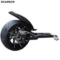 XUANKUN Модифицированная педаль мотоцикл задний ось аксессуары перевернутый три раунда пляжа Автомобильная вилка после полной 12 14 дюймов шины