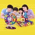 60 шт. мини магнитные детей игрушки обучения и образования детские игрушки блоки кирпичи строительство дизайнер модели здание , расположенное китай