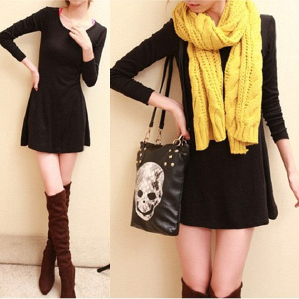 Compare Prices on Korean Winter Dress- Online Shopping/Buy Low ...