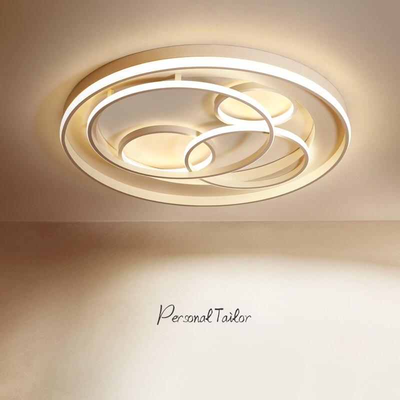white Modern led Ceiling Lights led lampfor Bedroom Livingroom Ceiling Lamp luminaria de teto Home Lighting plafonnier led