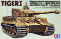 The TAMIYA assembling tank model 35146 WWII German Tiger Tank late type