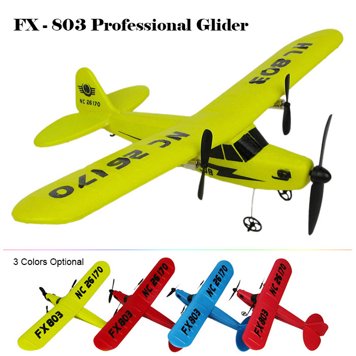 ФОТО 2016 New Flybear FX - 803 2.4G 2CH EPP Professional Glider Front-pull Double Propeller Ready-to-fly Three Colors Airplanes