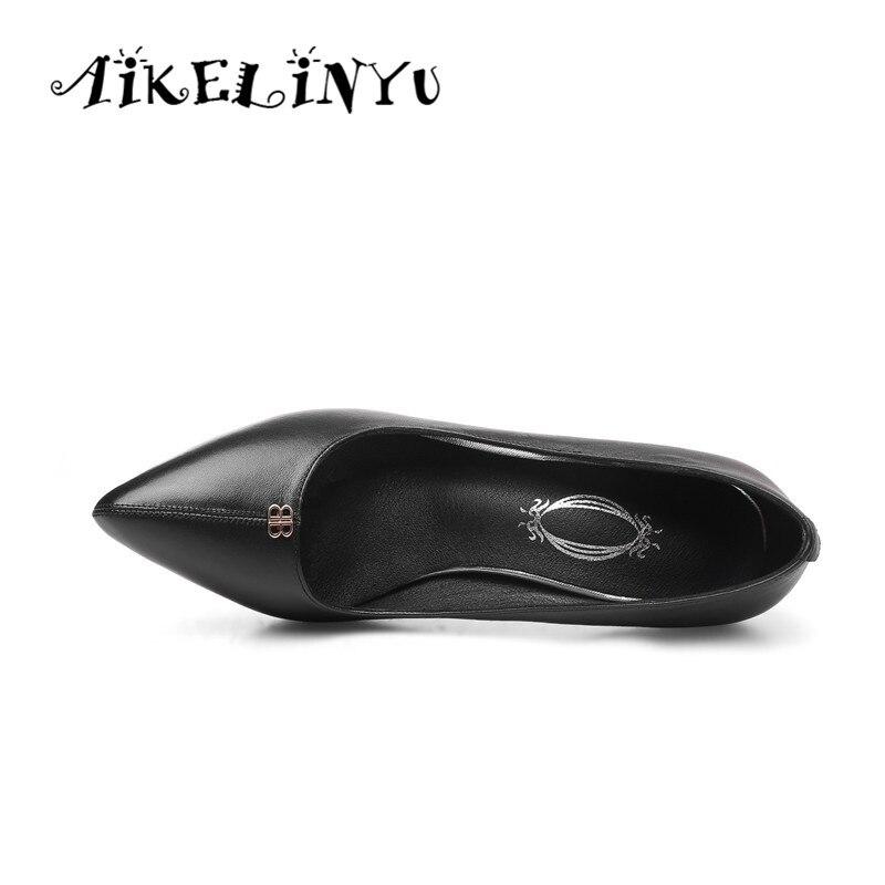 De Zapatos en La Tacones Punta negro Fiesta Aikelinyu Boda Sexy Superficial Calidad Alta Dama Clásicos 2019 Beige Mujer 6qxzwSE