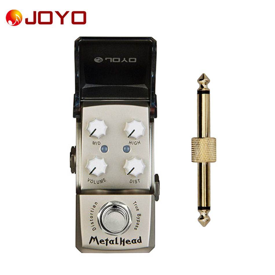 NEW Guitar effect pedal JOYO MetalHead Ironman series mini pedal JF-315 and 1 pc pedal connector