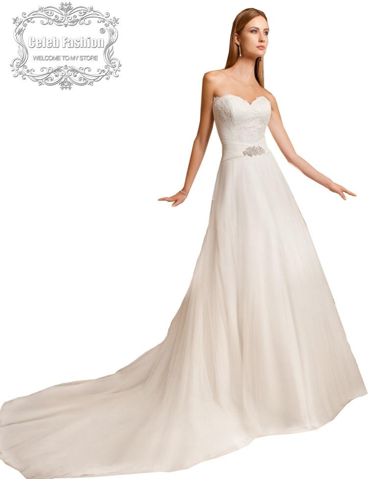 Popular simply elegant weddings buy cheap simply elegant for Simply white wedding dresses