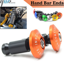 22mm  7/8 Motorcycle Aluminum Handlebar Grips Bar Ends Sliders For Honda Hornet 600 S Hornet 900 Integra 700 NC700X ABS VTR 10 цена