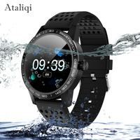 Ataliqi Smart watch Men IP68 Waterproof Blood pressure Heart Rate Fitness Tracker Bluetooth Sport SmartWatch For Android IOS