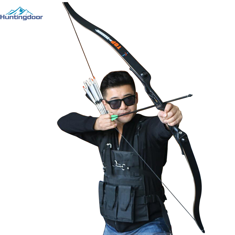 Professional Recurve Bow Archery Hunting 30-50 lbs Draw Weight Powerful Hunting Bow and Arrows Outdoor Cs War Shooting Fishing
