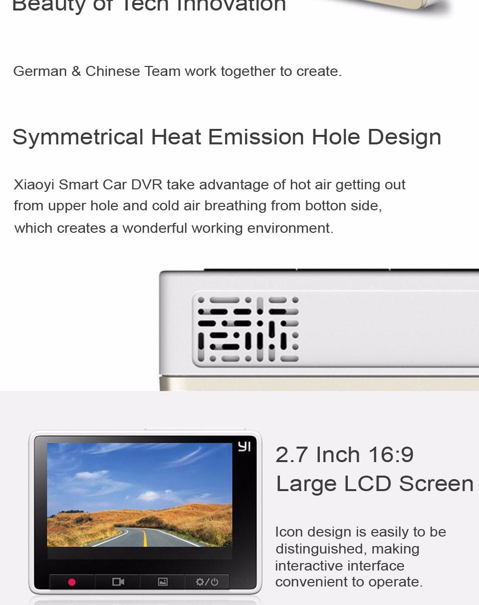 Xiaomi YI Smart Dashcam Car DVR (8)