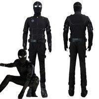 Мстители, эндгейм, Человек паук 2: Дальний от дома Человек паук, невидимый костюм для косплея Питер Паркер, костюмы на Хэллоуин для взрослых