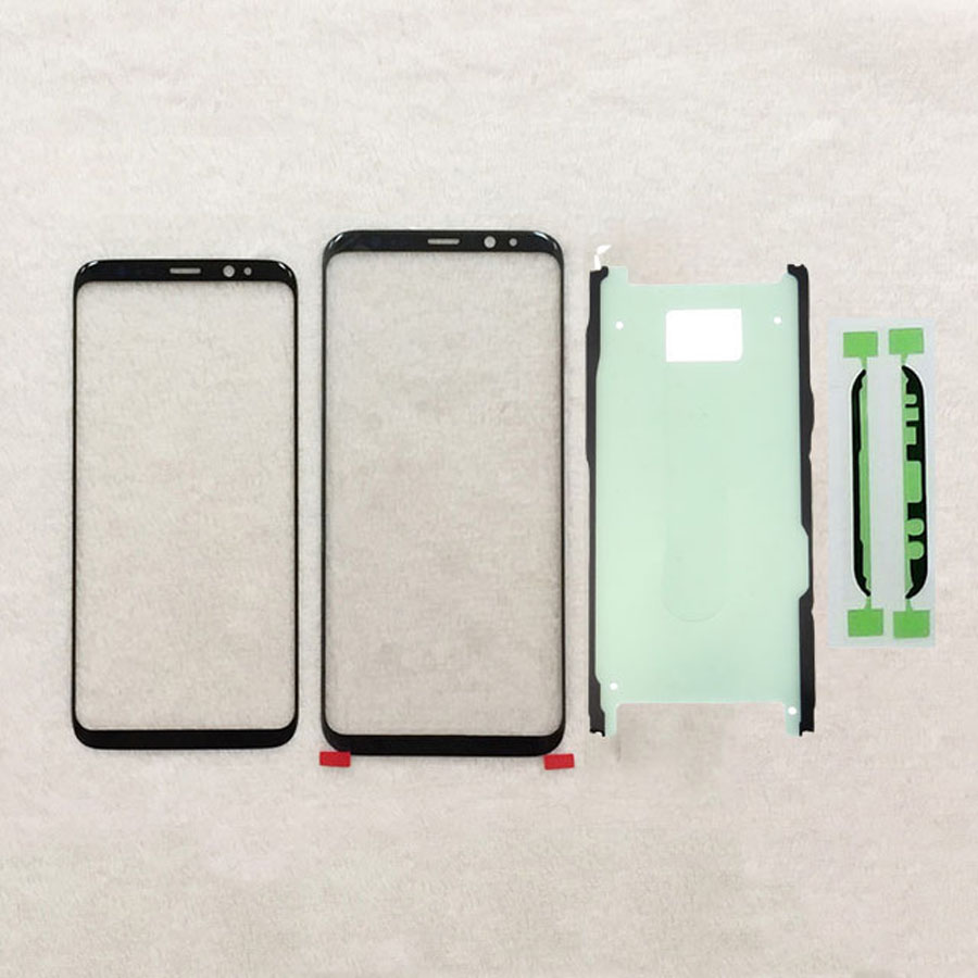 10PCS lot For Samsung Galaxy S8 G950 G955 S9 G960 G965 Plus Front Glass Touch Screen