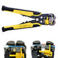 Automatic Wire Striper Cutter Stripper Crimper Pliers Crimping Terminal Hand Tool Cutting and Stripping Wire Multitool