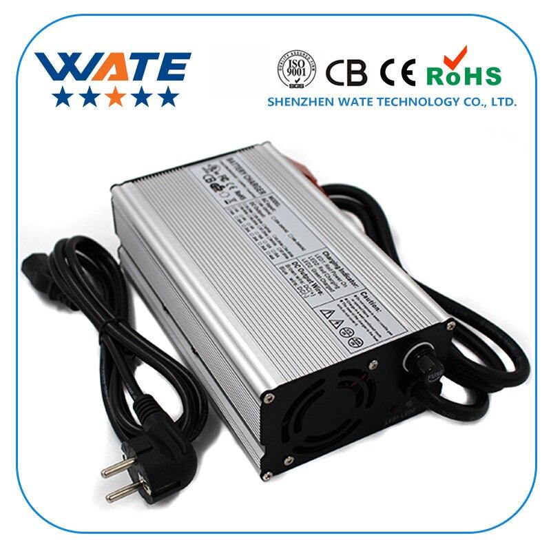Chargeur de batterie au plomb 24 V 13A chargeur 24 V sortie 27.6 V avec ventilateur chargeur intelligent en aluminiumChargeur de batterie au plomb 24 V 13A chargeur 24 V sortie 27.6 V avec ventilateur chargeur intelligent en aluminium