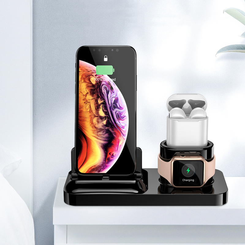 3 In 1 Magnetic Phone Charging Dock for IPhone X XS Max 8