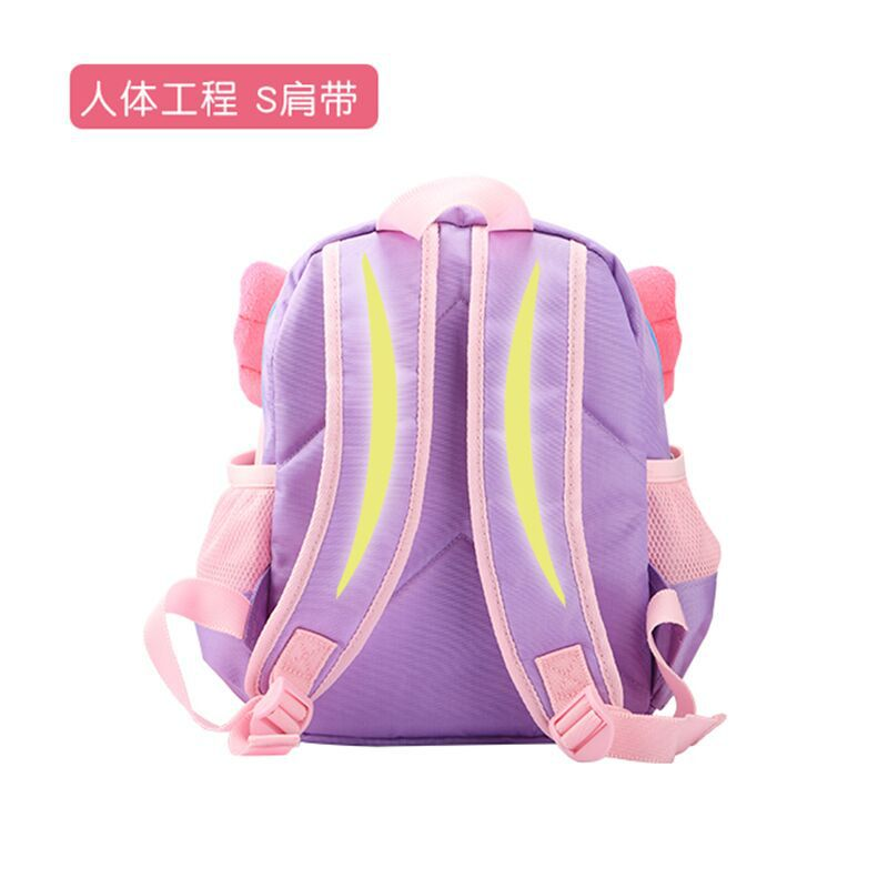 Image 5 - Genuine My Little Pony Children's backpack kindergarten cute girl bags cartoon Large capacity travel storage backpack-in Backpacks from Luggage & Bags