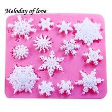 3D рождественские украшения, снежинка, кружево, шоколадная вечеринка, «сделай сам», помадка, выпечка, приготовление, торт, инструменты для ук...