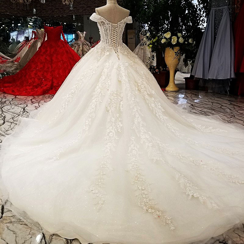 Image 3 - AIJINGYU Sexy Wedding Dresses Short Gown Bridal Lace Organza Cheap Off White Second Marriage Gowns Designer Wedding DressWedding Dresses   -