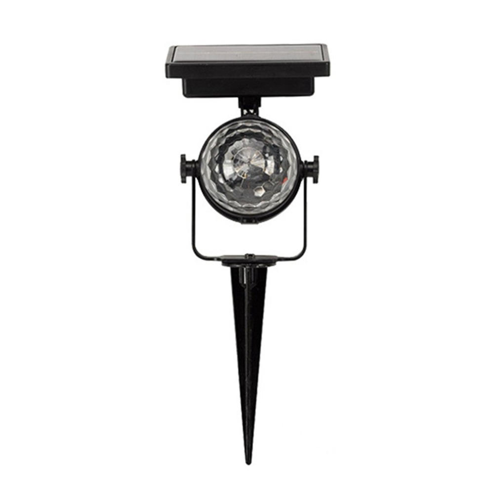 Solar Power Lamp LED Projector Light Rotating Colorful Light For Outdoor Garden Lawn Lamp Home Courtyard Decor