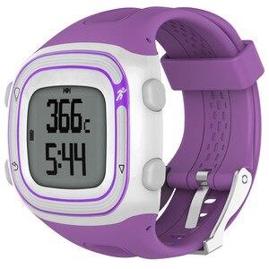 Image 5 - Garmin 포어 러너 10 15 GPS 러닝 스포츠 시계에 대 한 실리콘 시계 스트랩 여성 남성 교체 밴드에 대 한 작은 대형