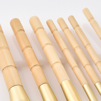 BBL 7pcs Bamboo Makeup Brushes Set Portable Face Powder Highlighter Blush Concealer Tapered Blending Eyeshadow Eyebrow Brush Kit 5