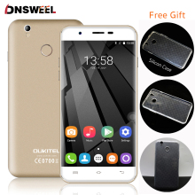 Freies fall oukitel u7 plus 4g handy mt6737 quad core Fingerprint ID Smartphone 2G + 16G 13MP Android 6.0 GPS handy