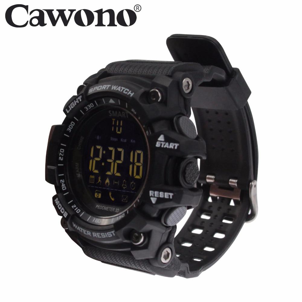 Cawono Bluetooth EX16 スマートウォッチ腕時計防水 Relogios IOS ウェアラブルデバイス用スマートウォッチアンドロイド PK Q18 DZ09