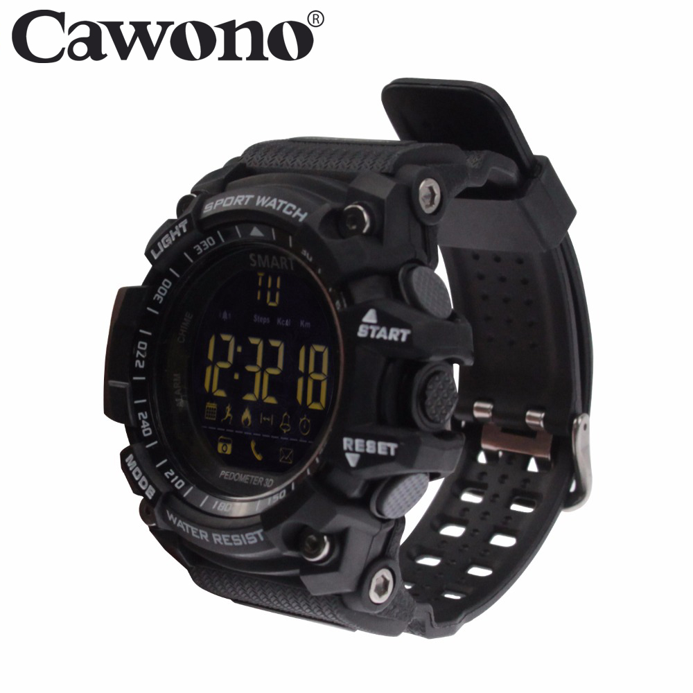 Cawono Bluetooth EX16 Smartwatch Watch Waterproof Relogios Smart Watch for IOS Wearable Devices Smart Watch Android PK Q18 DZ09