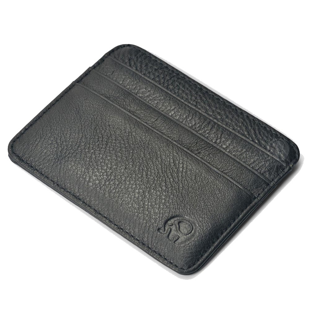 Men Business Slim Leather Mini Coin Purse Credit Card Holder Wallet ID Card Purse Bag Pouch portamonete uomo fashion solid pu leather credit card holder slim wallet men luxury brand design business card organizer id holder case no zipper