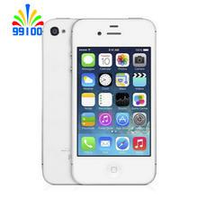 "Used Original  Apple Iphone 4s Factory unlock phone Dual core  16GB/32GB/64GB 8MP Camera GPS 3.5"" TouchScreen used phone"