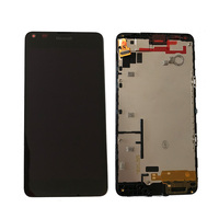 For Microsoft Nokia Lumia 640 LCD Display With Touch Screen Digitizer Assembly With Frame Free Shipping