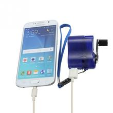 Emergency Hand-Cranking Dynamo Electric Generator USB Charger for Mobile Phone/MP4 Charger in Travel