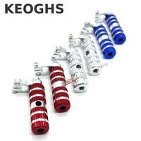 Keoghs Motorcycle Pedal Footrest Foot Pegs Aluminum Alloy For Mini Motocross Dirt Pit Bike 49cc Honda