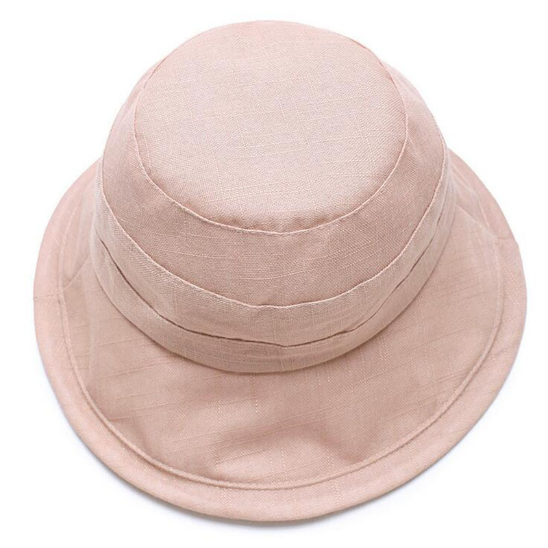 3afd78d034b 2017 summer new Fashion Elegant Women Ladies Fedora Cloche Flower Rose  Breathable linen Bucket Hat Headwear free shipping-in Bucket Hats from  Apparel ...