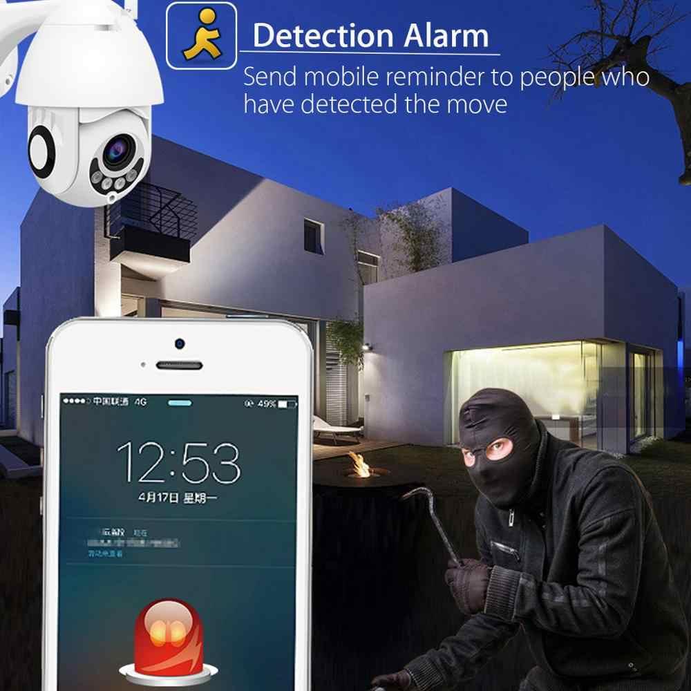 1080P Kamera IP PTZ Outdoor Speed Dome Kamera Keamanan Nirkabel Wifi IR Network CCTV Surveillance Xmeye ONVIF P2P untuk HD NVR