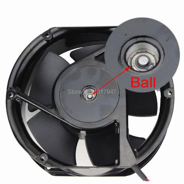 10 Piezas del lote GDT 150x50mm AC 220 V 240 V Ordenador PC Ventilador de Refrigeración De Escape Rodamiento De Bolas