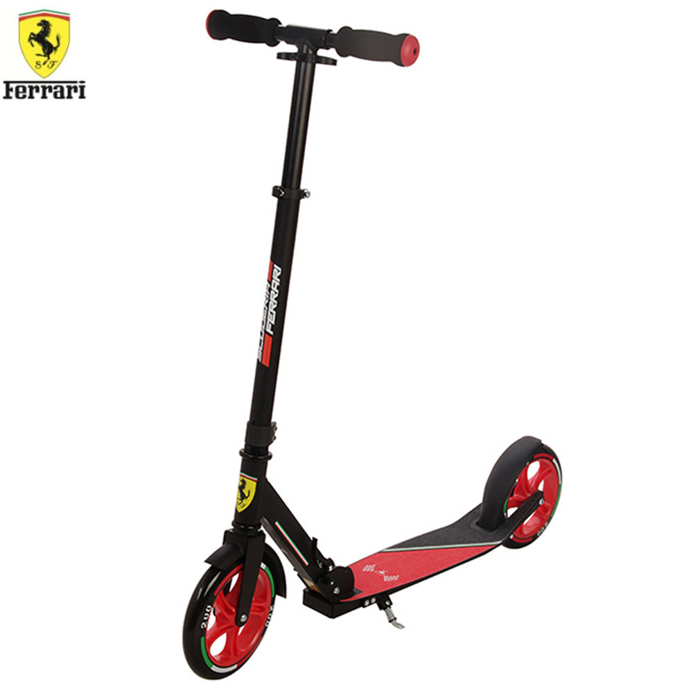 Ferrari FXA70 Fodable Scooter Adjustable Abec-7 Bearing Outdoor Sports Toy Speed Skateboard With Side Stand 3 Height LevelFerrari FXA70 Fodable Scooter Adjustable Abec-7 Bearing Outdoor Sports Toy Speed Skateboard With Side Stand 3 Height Level