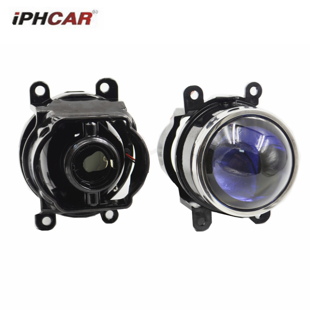 3.0 inch fog projector lens bixenon high and low light blue coating d2h for ford toyota universal lens halla 5 light effect