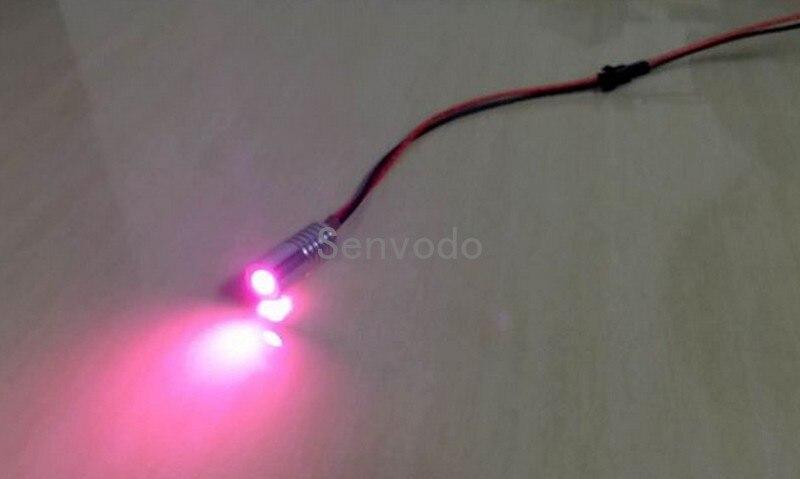 1 X High quality DC12V input 2W small size fiber optic illuminator for car using free shipping