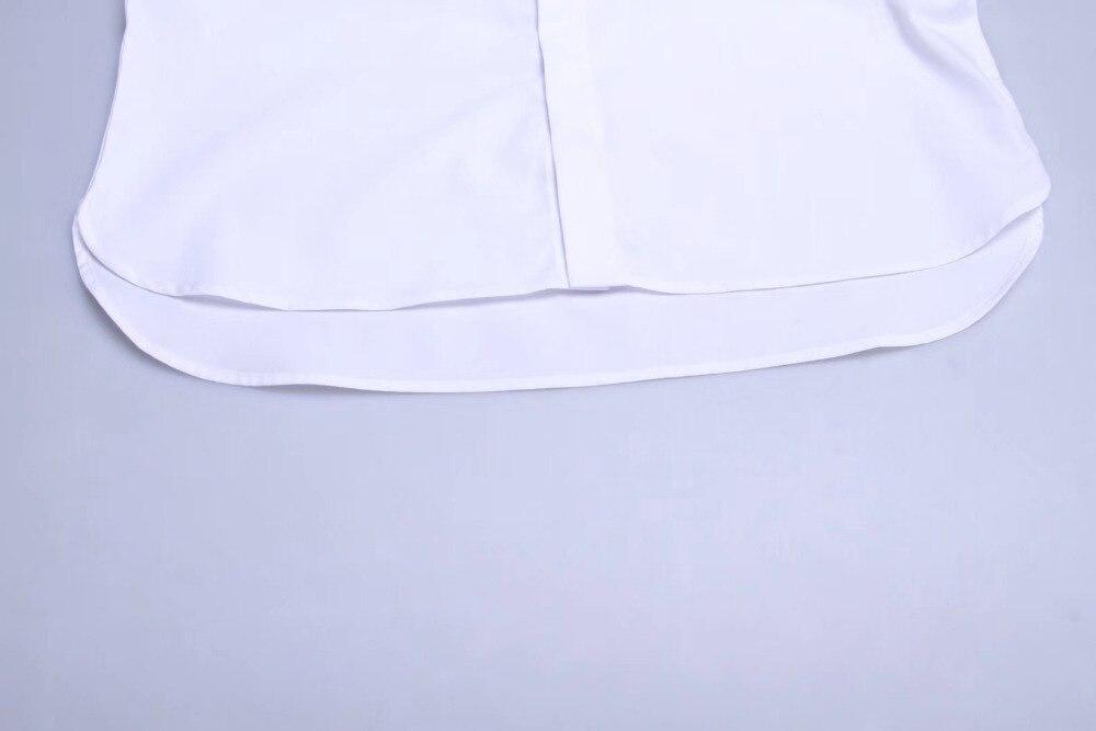 Cuello Bouton Calidad Fiesta Vuelto Respirable 2018 Fit Manchette Boda De Mince Esmoquin Beige Camisas Francia Hombres Robe wOg88qdxEC
