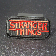 DIY Stranger Things Patch Rock Bands Patches For Clothing Iron On Metal Punk Stripes Clothes Embroidered Badges