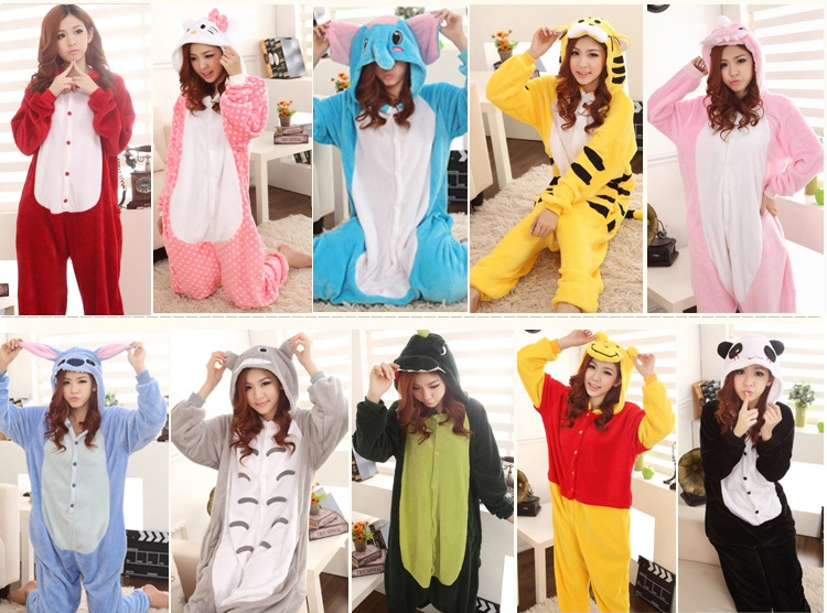 Aliexpress.com : Buy THE BEST adult animal footed pajamas Dinosaur ...