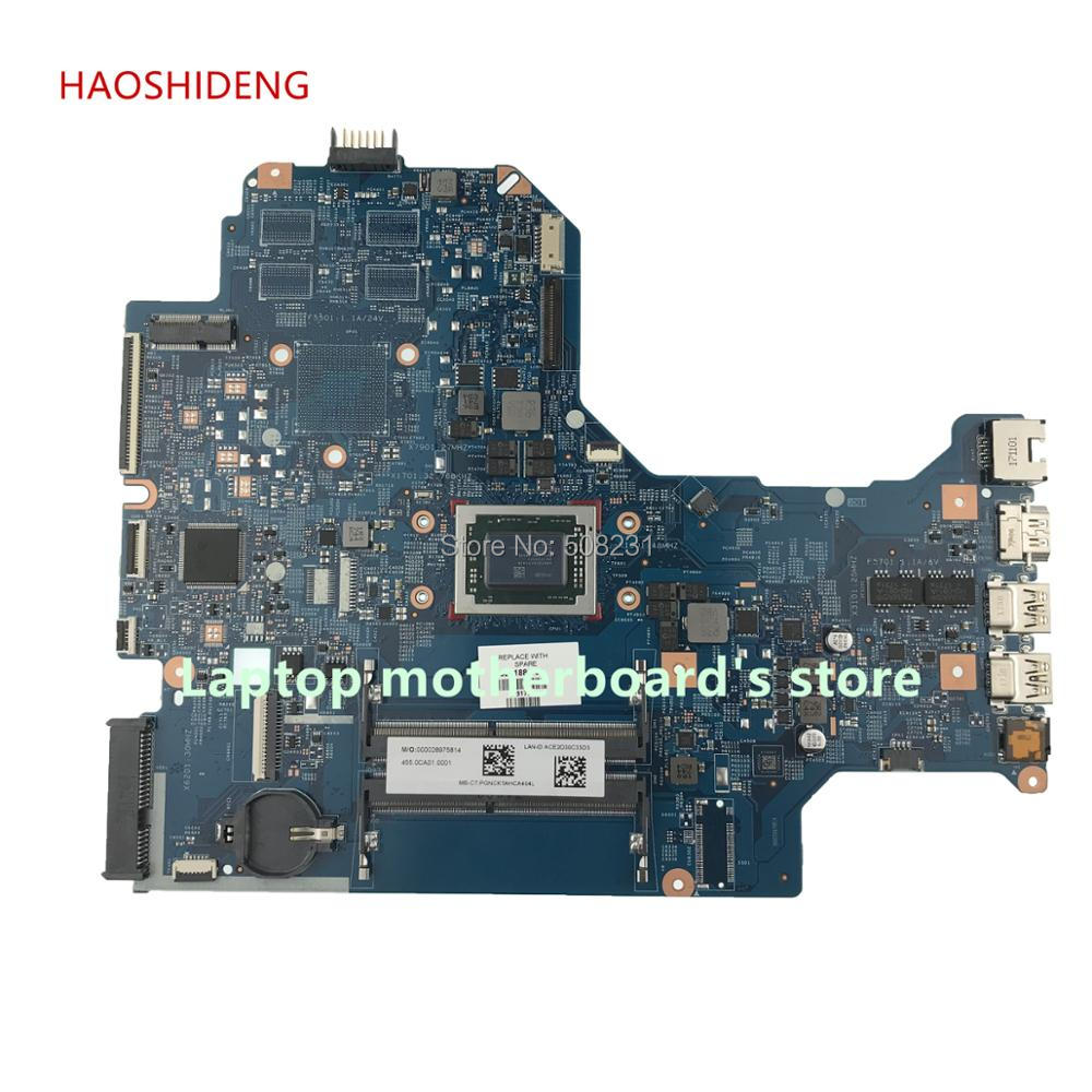 HAOSHIDENG 926188-601 448.0CA02.0011 mainboard For HP LAPTOP 17-AK 17Z-AK 17-AK064NR Laptop Motherboard A12-9720P fully Tested haoshideng 856765 601 856765 001 448 08g03 0011 mainboard for hp notebook 17 y 17z y 17 y088cl laptop motherboard with a8 7410