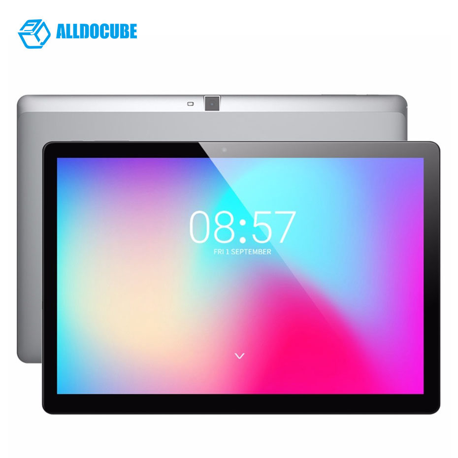 "ALLDOCUBE M3 10.1"" 1920 X 1200 Android 7.0 Tablets MT6753 Octa Core 2GB RAM 32GB ROM 4G Phone Call Tablet 8000 Mah Quick Charge"
