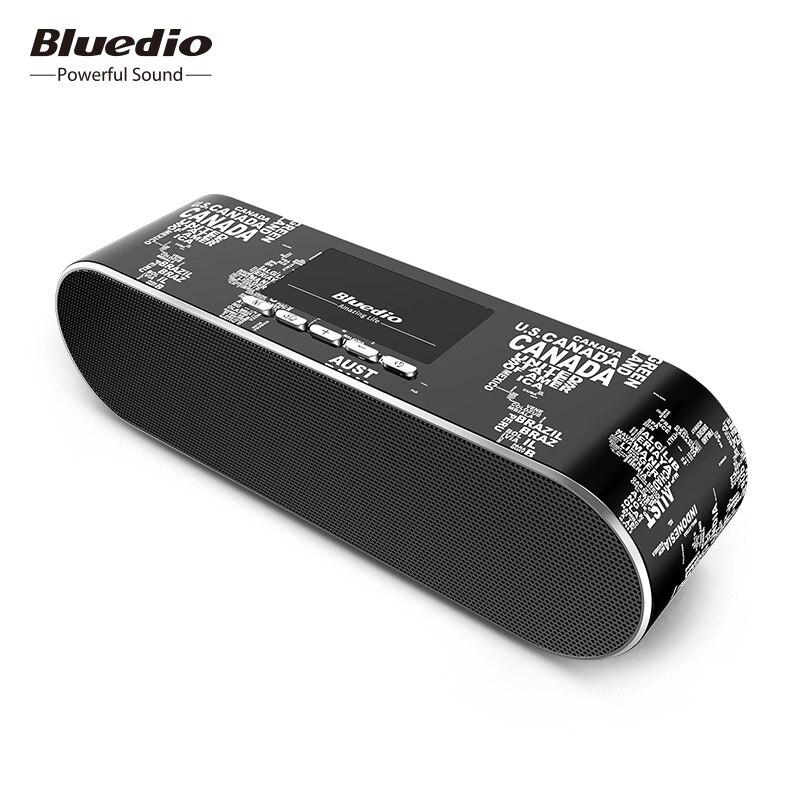 Bluedio AS-BT Mini Bluetooth רמקול נייד אלחוטי רמקול קול מערכת 3D סטריאו מוסיקה סראונד